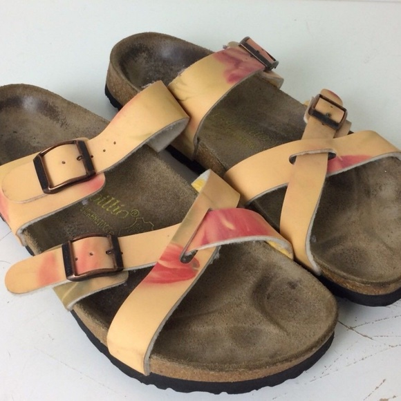 46675fe209d57a Birkenstock Shoes - Birkenstock Papillio Tatami Floral Sandals